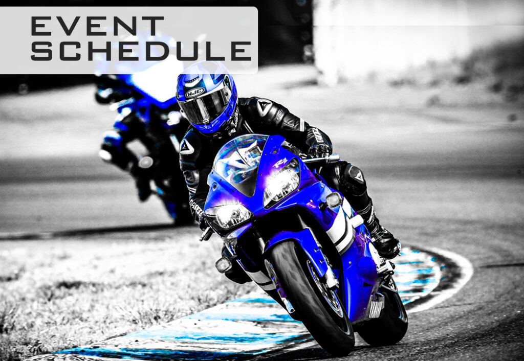 track day event schedule